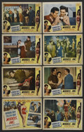 "Movie Posters:Crime, Models, Inc. (Mutual Productions, 1952). Lobby Card Set of 8 (11"" X14""). Crime. ... (Total: 8 Items)"