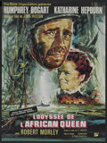 "Movie Posters:Adventure, The African Queen (Rank, R-1965). French Petite (23.5"" X 31.5"").Adventure. ..."