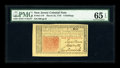 Colonial Notes:New Jersey, New Jersey March 25, 1776 6s PMG Gem Uncirculated 65 EPQ....