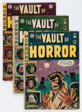 Golden Age (1938-1955):Horror, Vault of Horror Group (EC, 1951-55) Condition: Average GD....(Total: 10 Comic Books)