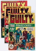 Golden Age (1938-1955):Crime, Justice Traps the Guilty/Justice Group (Prize/Atlas, 1948-54) Condition: Average GD.... (Total: 10 Comic Books)