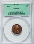 Proof Lincoln Cents: , 1939 1C PR66 Red PCGS. PCGS Population (286/27). NGC Census:(151/28). Mintage: 13,520. Numismedia Wsl. Price for problem f...