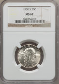Standing Liberty Quarters: , 1930-S 25C MS62 NGC. NGC Census: (54/362). PCGS Population(88/758). Mintage: 1,556,000. Numismedia Wsl. Price for problem ...