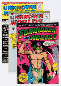 Unknown Worlds Group (ACG, 1960-62).... (Total: 7 Comic Books)