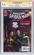 Modern Age (1980-Present):Superhero, The Amazing Spider-Man #583 Signed by Stan Lee and Others (Marvel,2009) CGC Signature Series NM+ 9.6 White pages....