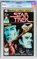 Modern Age (1980-Present):Science Fiction, Star Trek #1 and 2 CGC-Graded Group (Marvel, 1980) Condition:Average CGC NM+ 9.6 White pages.... (Total: 2 Comic Books)