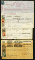 Canadian Currency: , Halifax Second Exchanges of 1869.. ... (Total: 5 items)