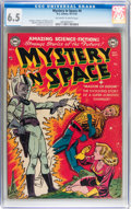 Golden Age (1938-1955):Science Fiction, Mystery in Space #4 (DC, 1951) CGC FN+ 6.5 Off-white to whitepages....