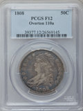 Bust Half Dollars: , 1808 50C Fine 12 PCGS. O-110a. PCGS Population (18/589). NGCCensus: (16/432). Mintage: 1,368,600. Numismedia Wsl. Price fo...