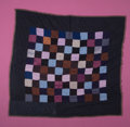 "Rugs & Textiles:Quilts, AN AMISH ""ONE PATCH"" CRIB QUILT. Circa 1950. 47 x 45-1/2 inches(119.4 x 115.6 cm). The Elton M. Hyder, Jr. Charitable and..."