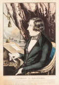 Fine Art - Work on Paper:Print, NATHANIEL CURRIER (American, 1813-1888). Thomas F. Meagher, 1848. Hand-colored lithograph. 23 x 18 inches (58.4 x 45.7 c...