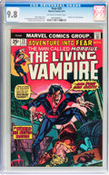 Bronze Age (1970-1979):Horror, Fear #23 Morbius the Living Vampire (Marvel, 1974) CGC NM/MT 9.8Off-white to white pages....