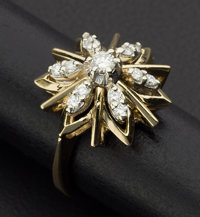 Terrific Diamond & Gold Ring