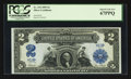 Large Size:Silver Certificates, Fr. 254 $2 1899 Silver Certificate PCGS Superb Gem New 67PPQ.. ...