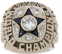 1971-72 Dallas Cowboys Super Bowl Championship Ring