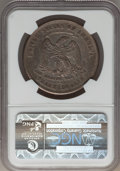 Trade Dollars: , 1873-CC T$1 VF30 NGC. NGC Census: (4/110). PCGS Population (3/192).Mintage: 124,500. Numismedia Wsl. Price for problem fre...