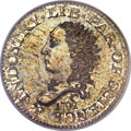 Early Half Dimes, 1792 H10C Judd-7, Pollock-7, R.4 as a Business Strike SP67 PCGS....