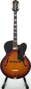 Musical Instruments:Electric Guitars, 2000s Epiphone Emperor Regent Sunburst Archtop Electric Guitar. ...