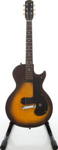 Musical Instruments:Electric Guitars, 1959 Gibson Melody Maker 3/4 Sunburst Solid Body Electric Guitar,Serial # 924469....
