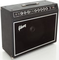 Musical Instruments:Amplifiers, PA, & Effects, 1970s Gibson G-50 Black Guitar Amplifier....