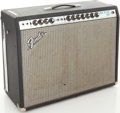 Musical Instruments:Amplifiers, PA, & Effects, Early 1970s Fender Twin Reverb Silverface Guitar Amplifier, Serial # A23373. ...