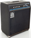 Musical Instruments:Amplifiers, PA, & Effects, 1980s Ampeg SVT-70T Black Bass Guitar Amplifier, Serial #70T-1281....