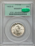 Standing Liberty Quarters, 1930-S 25C MS66 Full Head PCGS. CAC....