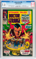 Silver Age (1956-1969):Horror, Strange Tales #156 (Marvel, 1967) CGC VF- 7.5 Cream to off-whitepages....