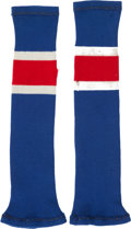 Hockey Cards:Other, 1980 Mike Eruzione Gold Medal Game Worn Socks....