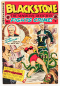 Golden Age (1938-1955):Crime, Blackstone, the Magician Detective #1 (EC, 1947) Condition: FN/VF....