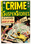 Golden Age (1938-1955):Horror, Crime SuspenStories #4 (EC, 1951) Condition: FN/VF....