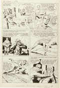 Original Comic Art:Panel Pages, Jack Kirby and Joe Simon The Double Life of PrivateStrong #1 Page 4 Original Art (Archie, 1959)....