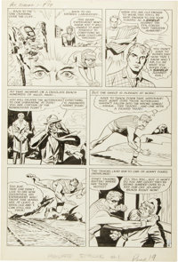 Jack Kirby and Joe Simon The Double Life of Private Strong #1 Page 4 Original Art (Archie, 1959)