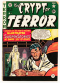 Golden Age (1938-1955):Horror, Crypt of Terror #19 (EC, 1950) Condition: GD/VG....