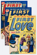 Golden Age (1938-1955):Romance, First Love Illustrated File Copies Group (Harvey, 1949-63) Condition: Average VF.... (Total: 78 Comic Books)