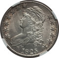 Bust Half Dollars: , 1825 50C MS62 NGC. NGC Census: (90/166). PCGS Population (62/148).Mintage: 2,900,000. Numismedia Wsl. Price for problem fr...
