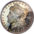 Proof Morgan Dollars, 1892 $1 PR65 Cameo PCGS. CAC....
