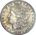 Morgan Dollars, 1893-S $1 -- Improperly Cleaned -- NGC Details. AU....