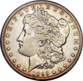 Morgan Dollars, 1893-S $1 -- Cleaning -- PCGS Genuine. VF....