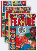 Golden Age (1938-1955):Miscellaneous, Feature Comics Group (Quality, 1939-48).... (Total: 6 Comic Books)