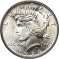 Peace Dollars, 1926-D $1 MS66 PCGS Secure. CAC....