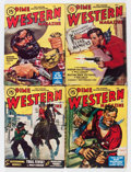 Pulps:Western, Assorted Western Pulps Box Lot (Various, 1940-50) Condition: Average VG-....