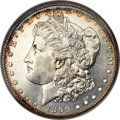 Morgan Dollars, 1899-S $1 MS65 Deep Mirror Prooflike NGC....