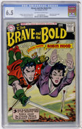 Silver Age (1956-1969):Adventure, The Brave and the Bold #14 Robin Hood (DC, 1957) CGC FN+ 6.5 Off-white to white pages....
