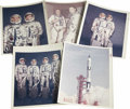 "Transportation:Space Exploration, Gemini 3 - Collection of Five Official NASA Photos. All are 8"" x10"" original color glossies with NASA image numbers in the ...(Total: 5 Item)"