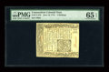 Colonial Notes:Connecticut, Connecticut June 19, 1776 2s PMG Gem Uncirculated 65 EPQ....