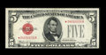 Small Size:Legal Tender Notes, Fr. 1527* $5 1928B Legal Tender Note. Choice About Uncirculated.. ...