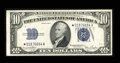 Small Size:Silver Certificates, Fr. 1705* $10 1934D Silver Certificate. Extremely Fine-About Uncirculated.. ...