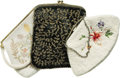 Movie/TV Memorabilia:Costumes, Marian Marsh's Vintage Beaded Bags. Owned and used by Marian Marsh,these vintage beaded bags include a hand-beaded black cl... (Total:1 Item)