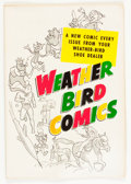 Silver Age (1956-1969):Miscellaneous, Weather Bird Comics #nn Harvey Hits #3 (Weather Bird Shoes, 1957) Condition: FN/VF....